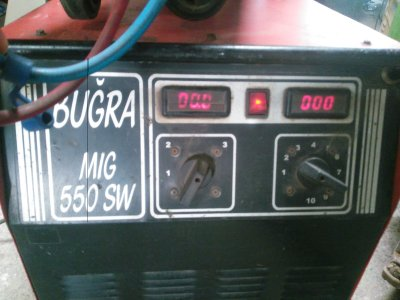 550 Amper Buğra Marka Su Soğutmalı Gazaltı Kaynak