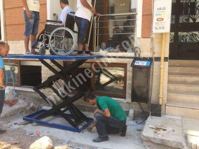 Satılık Sıfır ENGELLİ ASANSÖRÜ/PLATFORMU MAKASLI LİFT ÖZEL ÜRETİM Fiyatları İzmir engelli,engelli asansörü,engelli platformu