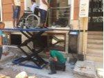 Engelli Asansörü/platformu Makaslı Lift Özel Üretim