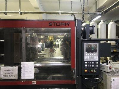 Satılık 2. El 330ton - 900 Gr Sxs Stork Çok Temiz Plastik Enjeksiyon Makinesi Fiyatları İstanbul enjeksiyon, stork, plastik enjeksiyon, ambalaj, plastik, enjeksiyon makinesi