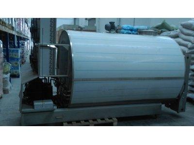 Satılık 2. El Kromel 2008 Model Hiç Kullanılmamış 3 Tonluk Süt Soğutma Tankı Fiyatları Kocaeli (İzmit) süt soğutma tankı, süt tank karıştırıcı, kromel süt tankı