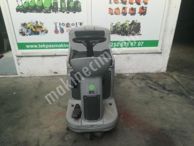 Satılık 2. El TEKPAS MAKİNA BİNİCİLİ OTOMAT IPC CT 110 Fiyatları İstanbul binicili zemin yıkama makinası, sürücülü zemin yıkama makinası