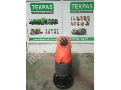 Satılık 2. El TEKPAS MAKİNA İTALYAN ELEKTRİKLİ ZEMİN YIKAMA Fiyatları İstanbul elektrikli zemin yıkama makinaları