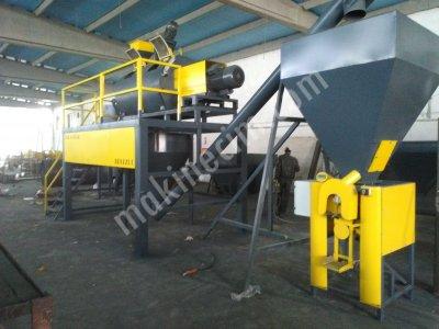 Satılık Sıfır KRAFT TORBA DOLUM MAKİNASI Fiyatları Denizli yapı kimyasalları dolum paketleme kraft torba türbinli doldurma  kalekim  cimento alçı
