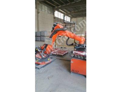 Kraft Torba Paletleme Robot U  Torba İstifleme  Robot U