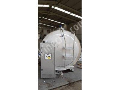 Satılık Sıfır 5 ton sut sogutma tankı- otamatik yıkamalı-kantarlı-kurulum dahil Fiyatları Burdur cemre sogutma , süt soğutma tankı, krom nikel tank, cemresogutma, krom tank, süt tankı