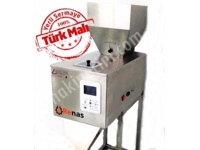 Toz Şeker Dolum Makinası 50-2500 Gr