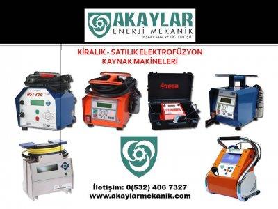 Kiralık İkinci El Kiralık Elektrofüzyon Kaynak Makineleri Fiyatları İstanbul kiralık elektrofüzyon, kiralık elektrfizyon, füzyon kaynak makinesi, hdpe kaynak makinesi