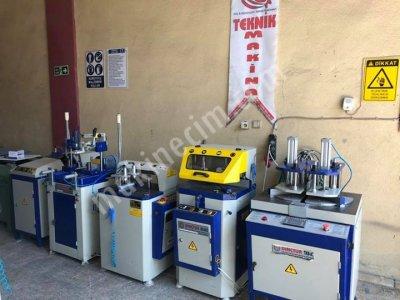 Satılık 2. El Ful Otomatik Tam Takım Pvc Doğrama Makinaları Fiyatları Bursa pvc makinaları , ikinci el pvc işleme makinaları , alüminyum doğrama makinaları , alüminyum işleme makinaları