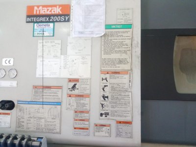 Satılık 2. El Temiz 2000 Model Mazak İntegrex 200 Sy Fiyatları Konya torna,cnc,mazak,integrex,200,sy,200sy,taşlama,genel,kullanım