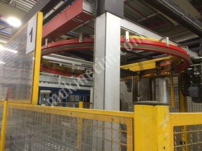 Satılık Sıfır Palet streç ve folyo sarma makinası Fiyatları Nordrhein-Westfalen Palet sarma makinasi, stretchleme makinasi, haloila, Palet streç ve folyo sarma makinası