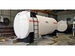 Jeneratör Besleme Tankı 20 Tonluk Yakıt Tankı