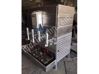 4 Nuzul Dolum   Dm-400 Ayçiçek-Zeytinyağ-Sıvı Gübre-Süt Vb M.terazili   Dolum Makinesi