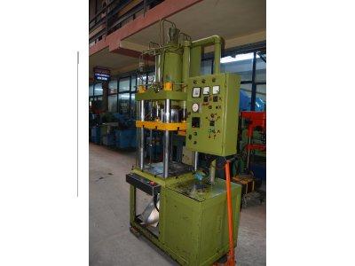 Satılık 2. El 80 Tonluk Tek Tesirli Hidrolik Pres Makinesi Fiyatları İstanbul hidrolik, pres, makine,