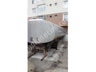 Paslanmaz Krom Tanker Kamyon Tankeri 20 Tonluk