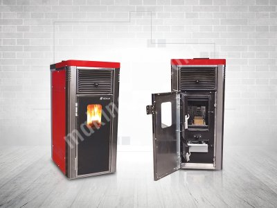 Satılık Sıfır Şömine Tipi Pelet Sobası, Feniks 12 kW Fiyatları Konya hava üflemeli pelet sobası, pelet kazanı, pelet yakıtlı soba, pelet yakıtlı kazan