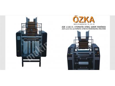 Otomatik Streç Sarım  Makinası Asr 1200-Xl