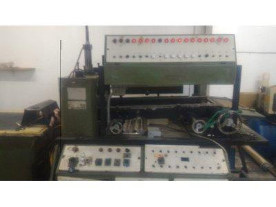 Satılık İkinci El Çalışır Durumda Thermoform Müretim Tesisi Komple Satılık Fiyatları İstanbul vakum makinası, thermoform makinası, satılık vakum makinası, yumurta kabı makinası