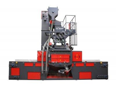 Rdge Çelik Hasır Bantlı Kumlama Makineleri