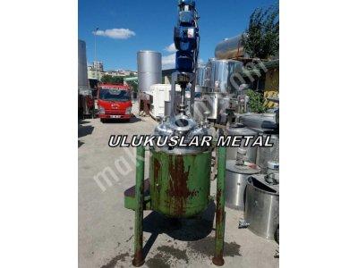 Paslanmaz 316 Kalite Reaktör Isıtmalı Karıstırıcılı Devir Ayarlı Buhar Ve Basınca Uygun