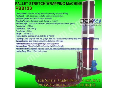 Satılık Sıfır Palet streç sarma makinası Fiyatları Karaman palet streç,streç sarma makinası,streç sarma,otomatik streç sarma