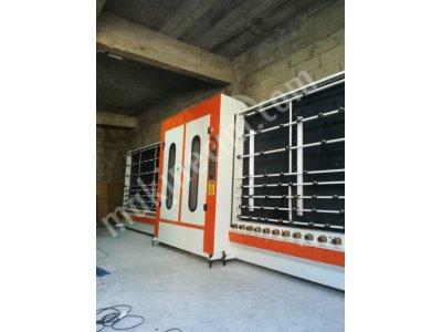 Satılık 2. El Cam Yıkama Makinesi Ersan 1700 Fiyatları Ankara ikinci el cam yıkama, cam yıkama makinası, cam yıkama, ısıcam hattı,