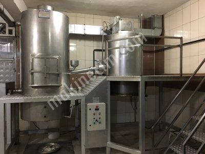 Satılık 2. El Satılık Platformlu Helva Ağda Makinası (100kg) Fiyatları Elazığ Helva ağda makinası