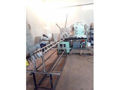 Satılık 2. El Yuvarlak Kanal Makinesi Yuvarlak Kanal Havalandırma İmalatı Atölyesi Fiyatları Ankara Yuvarlak Kanal Makinesi Yuvarlak dirsek makinesi plazma silindir