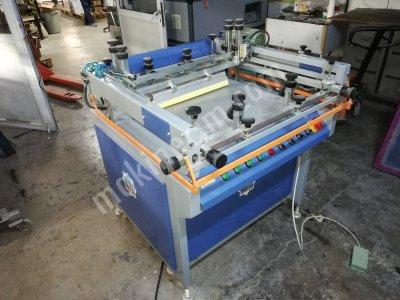 35X50Cm Yarı Otomatik Vakumlu Serigrafi Baskı Makinesi Timsah