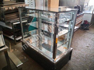 Satılık 2. El Kuru Pasta teşhir dolabı Fiyatları Konya Satılık ikinci el kuru pasta teşhir dolabı