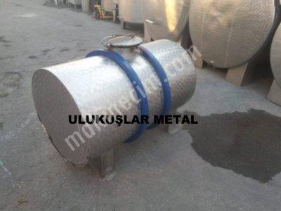 2.el Paslanmaz Çelik Süt Nakil Tankı Tamamı 304 Kalite