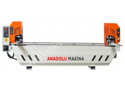 Pvc Çift Kafa Kaynak Makinası Kıl Kaynak Anadolu Makinadan