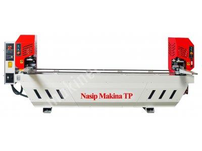 Satılık Sıfır Pvc Ve Alüminyum İşleme  Makinaları Fiyatları Bursa pvc işleme makinaları çift köşe kesim  çift köşe kaynak makine  üstten inme kesim