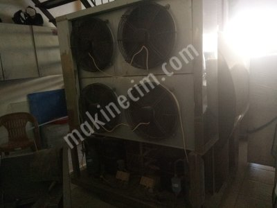 5000 Ton/h Süt Soğutma Tankı (Manuel Yıkama)