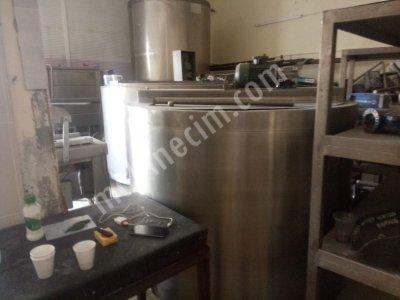 1,5 Ton Buharlı Süt Pişirme