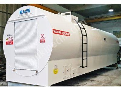 40.000 Lt - Kepenk Sistemli Yakıt Tankı - Ekstra Güvenlikli -
