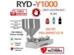 Smoothie (Meyveli Yoğurt) Dolum Makinası 100-1000 Ml %100 Yerli Üretim