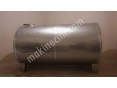 Satılık Sıfır Paslanmaz Su Deposu 304 Su Deposu Krom Tank Gıda Kazanı Fiyatları İstanbul su deposu,krom tank,karıştırıcı,su tankı,yağ tankı,mikser,paslanmaz,krom,çelik,stainless steel,zeytinyağı tankı