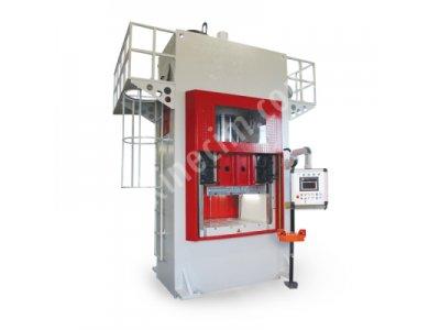Satılık Sıfır H Tipi PLC Kontrol Otomatik Sıvama Hidrolik Pres - 600 Ton Fiyatları Konya H tipi PLC Kontrol Presi, Hidrolik Pres, H tipi hidrolik pres, satılık pres, pres, 600 ton hidrolik pres