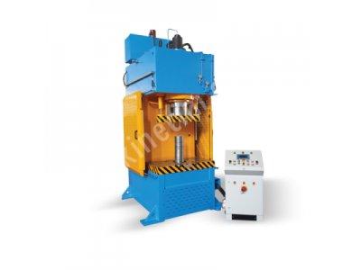 Satılık Sıfır C Tipi Otomatik Alttan Çıkarıcılı Hidrolik Pres - 160 Ton Fiyatları Konya c tipi sıvama presi, sıvama presi, c tipi pres, satılık pres, pres
