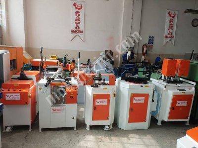 Satılık 2. El PVC MAKİNALARI ANADOLU MAKİNADAN 5 Lİ SET TURUNCU Fiyatları Bursa pvc makinaları ,ikinci el pvc makinaları ,2.el pvc makinaları