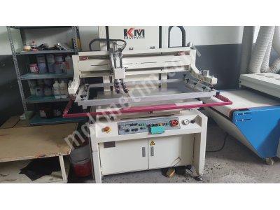 Satılık İkinci El Yarı Otomatik Serigrafi Makinesi, Uv Kurutma , Şasi Pozlama , 30 Adet Alüminyum Çerçeveli İpek Klp. Fiyatları İstanbul serigrafi,serigraf,UV,pozalama,