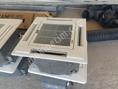 Satılık 2. El Tavan Klima, Fan Coil 4 Borulu Tavan Tip - 10kw Gücünde Fiyatları Manisa fan, soğutma, satılık, tavan tipi fan, fan coil, fancoil, 4 borulu tavan tip fan, endüstriyel soğutma,