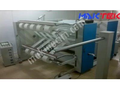 Satılık 2. El Nonwoven Ve Kağıt Ambalaj Bobin Dilimleme Makinası Fiyatları Manisa Bobin, Dilimleme, Kağıt, Mendil, Nonwoven