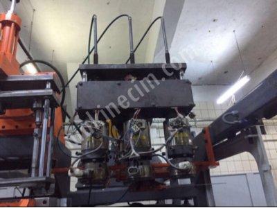 Satılık 2. El 90 Lık 200 Merkez 3 Kafa Şişirme Makinesi Fiyatları  şişirme,plastik,makine,kalıp,yeni,model