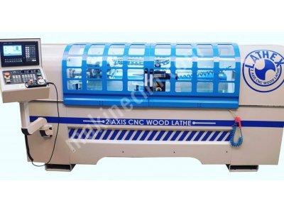 Satılık Sıfır Ahşap Cnc Torna Makinası Fiyatları Bursa AHŞAP CNC TORNA MAKİNASI
