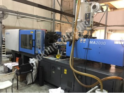 Hatıan 2016 Model 200 Ton Plastik Enjeksiyon Makinesi