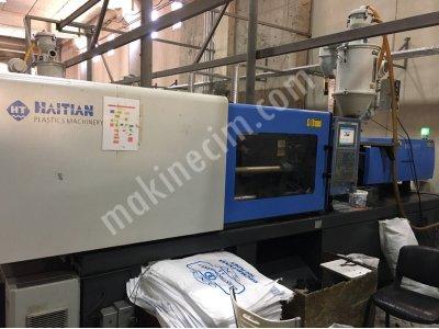 Satılık 2. El Hatıan 2016 model 160 ton plastik enjeksiyon makinesi Fiyatları Eskişehir