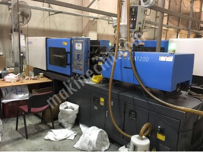 Satılık 2. El Hatıan 2016 model 120 ton plastik enjeksiyon makinası Fiyatları Eskişehir