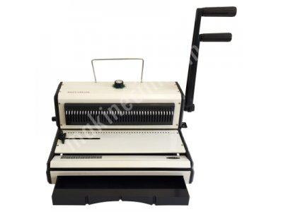 Satılık 2. El Xon Turkuaz 3:1 Sistem Tel Spiral Cilt Makinesi Fiyatları İstanbul Tel Spiral Makinesi, 40 delik Spiral Makinesi, Ciltleme Makinesi